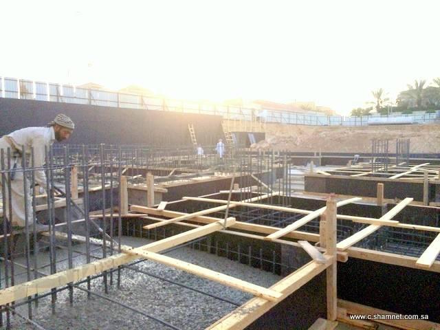 قصر الذهيبان جديد شبكة الشام للمقاولات